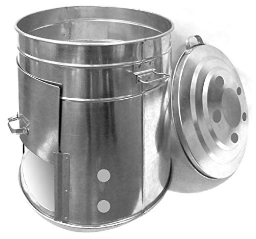 Guillouard Composteur-Aérateur de Compost 120L Compostador – Aireador, Chapa Galva