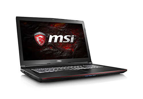 MSI GP72VR Leopard Pro-281 17.3' 120Hz 5ms Display Performance Gaming Laptop Core i7-7700HQ GTX 1060 16GB 1TB VR Ready