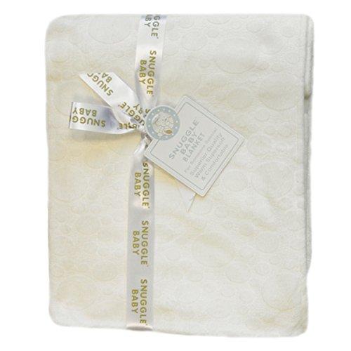 Snuggle Baby Couverture en relief pour bébé, crème, couffin/berceau/landau.