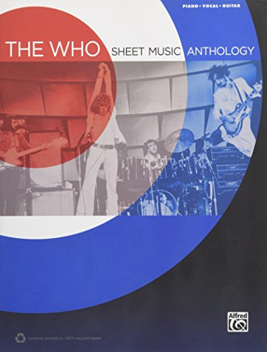 The Who -- Sheet Music Anthology...