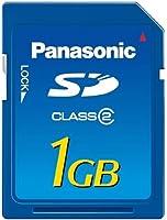 パナソニック SDメモリーカード1GB RP-SDR01GJ1A