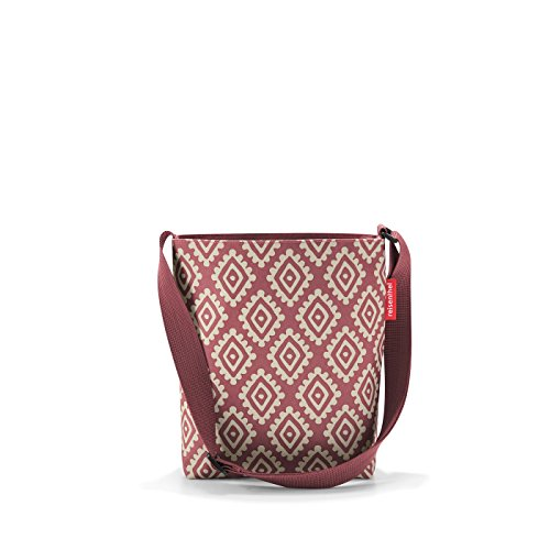 reisenthel shoulderbag S diamonds rouge Maße: 29 x 28,5 x 7,5 cm / Volumen: 4,7 l