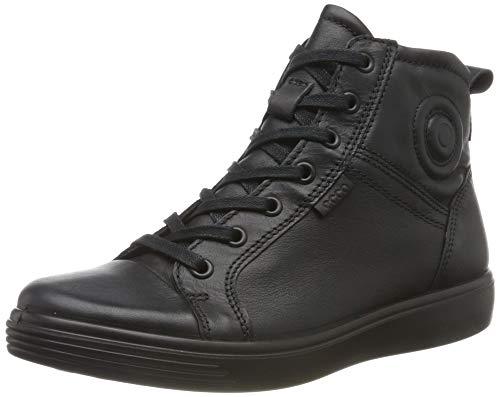 ECCO Unisex-Kinder S7 Teen Hohe Sneaker, Schwarz (Black 11001), 37 EU