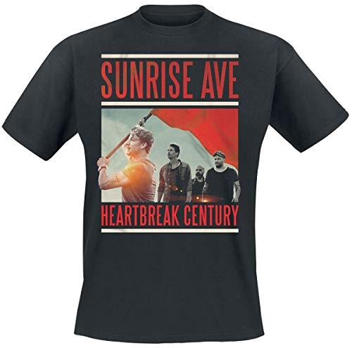 Sunrise Avenue - Heartbreak Century Album Cover T-Shirt (L)