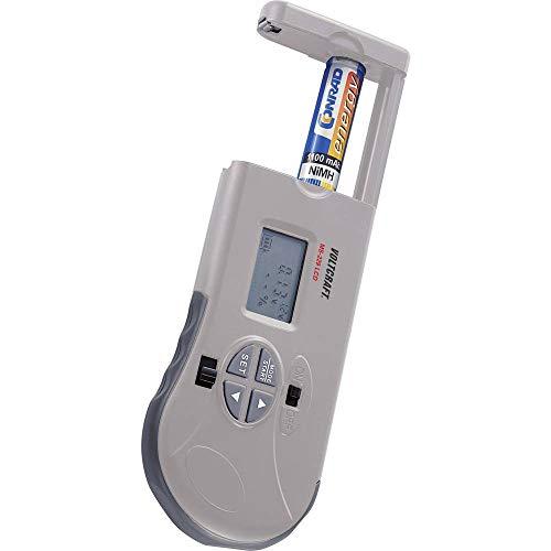 VOLTCRAFT Testeur de Piles MS-229 LCD MS-229 LCD Plage de Mesure (testeur de Pile) 1,2 V, 1,5 V, 3 V, 9 V, 12 V batteri
