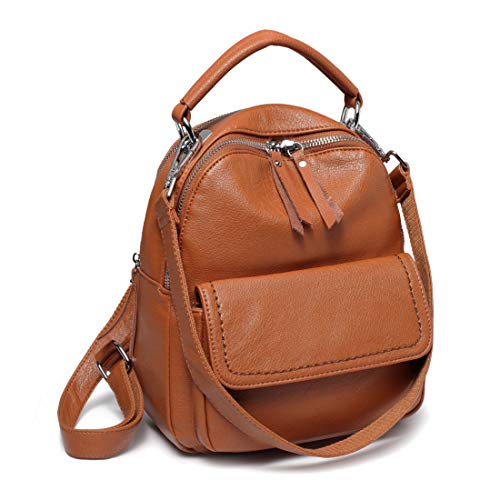 Mini Backpack Purse,ChaseChic Faux Leather Women Convertible Shoulder Bag 2 ways