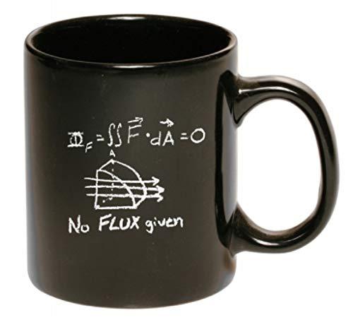 N\A Taza de café de cerámica sin fundente, Estilo Pizarra, Negro