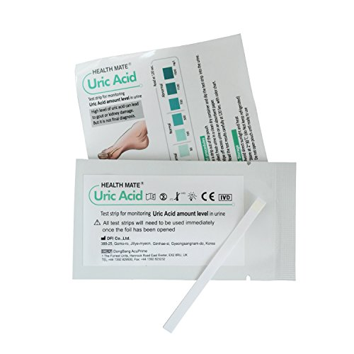 2 x Tiras Reactiva en Orina para Acido Urico - Test de Gota