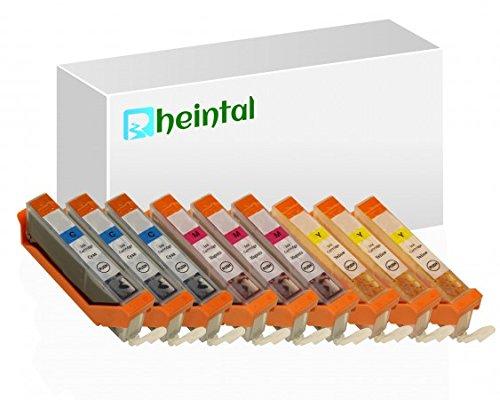 Rheintal, Set di cartucce XL di ricambio con chip, compatibili con Canon PGI-570, CLI-571 (06) 571 - 9 Patronen