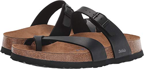 Birkenstock Betula Licensed Mia Soft Black Birko-Flor 37 (US Women's 6-6.5) Narrow