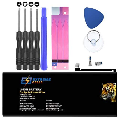 Extremecells Akku für iPhone 6 Plus + Werkzeug Batterie Battery 2915mAh