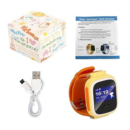 Heaviesk Q60 Kind Smartwatch Safe-Keeper SOS Anruf Anti-Lost Monitor Echtzeit-Tracker für Kinder Basisstation Ort APP-Steuerung
