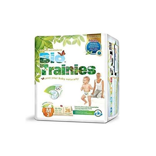 Bio trainies – Lot de 26 couches unisexe Taille M