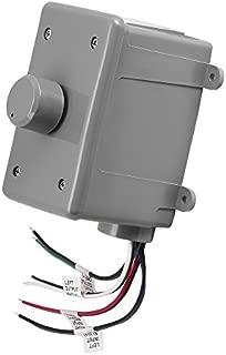 OSD Audio 100W Outdoor Volume Control – Weather Resistant, Rotary Knob Grey - OVC100