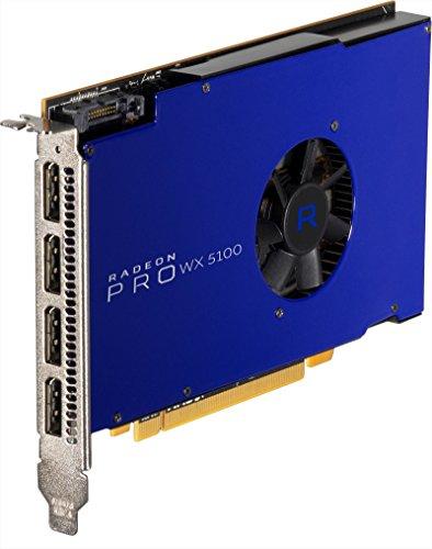 Fujitsu AMD Radeon Pro WX 51008GB GDDR5–Grafikkarten (Radeon Pro WX 5100, 8GB, GDDR5Speicher, 256Bit, 1250MHz, PCI Express x16)