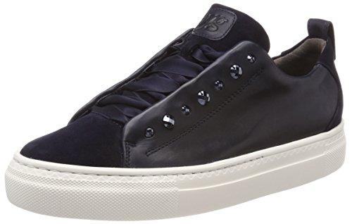 Paul Green Damen Sz/Foulard Sneaker, Mehrfarbig (Blau/Ocean 12), 38 EU