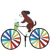 JUEJIDP Animal Riding Bike Windmühle, Riding Bike Wind Spinner Windräder Windmühle Dekor Ornament, für Gartenparty Rasen Windmühle Gartendekoration,C