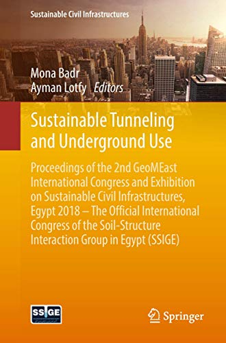 Sustainable Tunneling and Underground Use (Sustainable Civil Infrastructures)