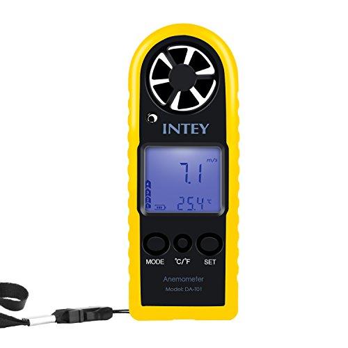 INTEY Anemómetro Digital Medidor De...