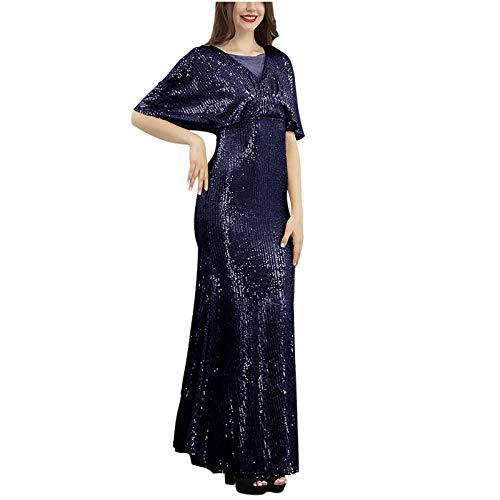 Vestido casual para mujer, vestido de mujer, sexy, con lentejuelas, para banquetes, para vacaciones, etc