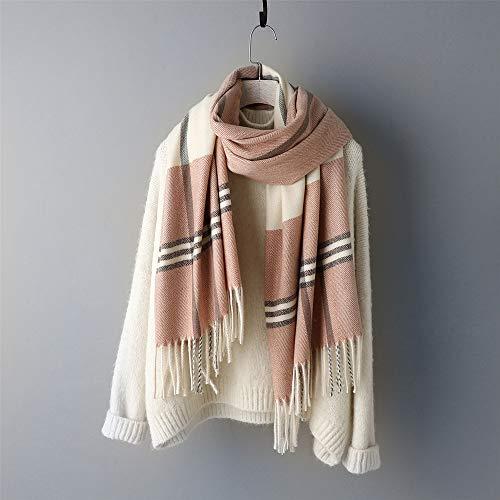 Vrouwen mode sjaal herfst en winter dikke kwast imitatie kasjmier kantoor airconditioning kamer student wilden sjaal accessoires