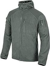 Helikon-Tex Men's Alpha Hoodie Jacket Grid Fleece Shadow Gray Size XXL