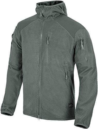 Helikon-Tex Alpha Hoodie Jacket leichte Fleece-Jacke Outdoor - Shadow Grey