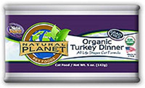 Natural Planet Organics Canned Turkey Cat Food 12/5 oz Case