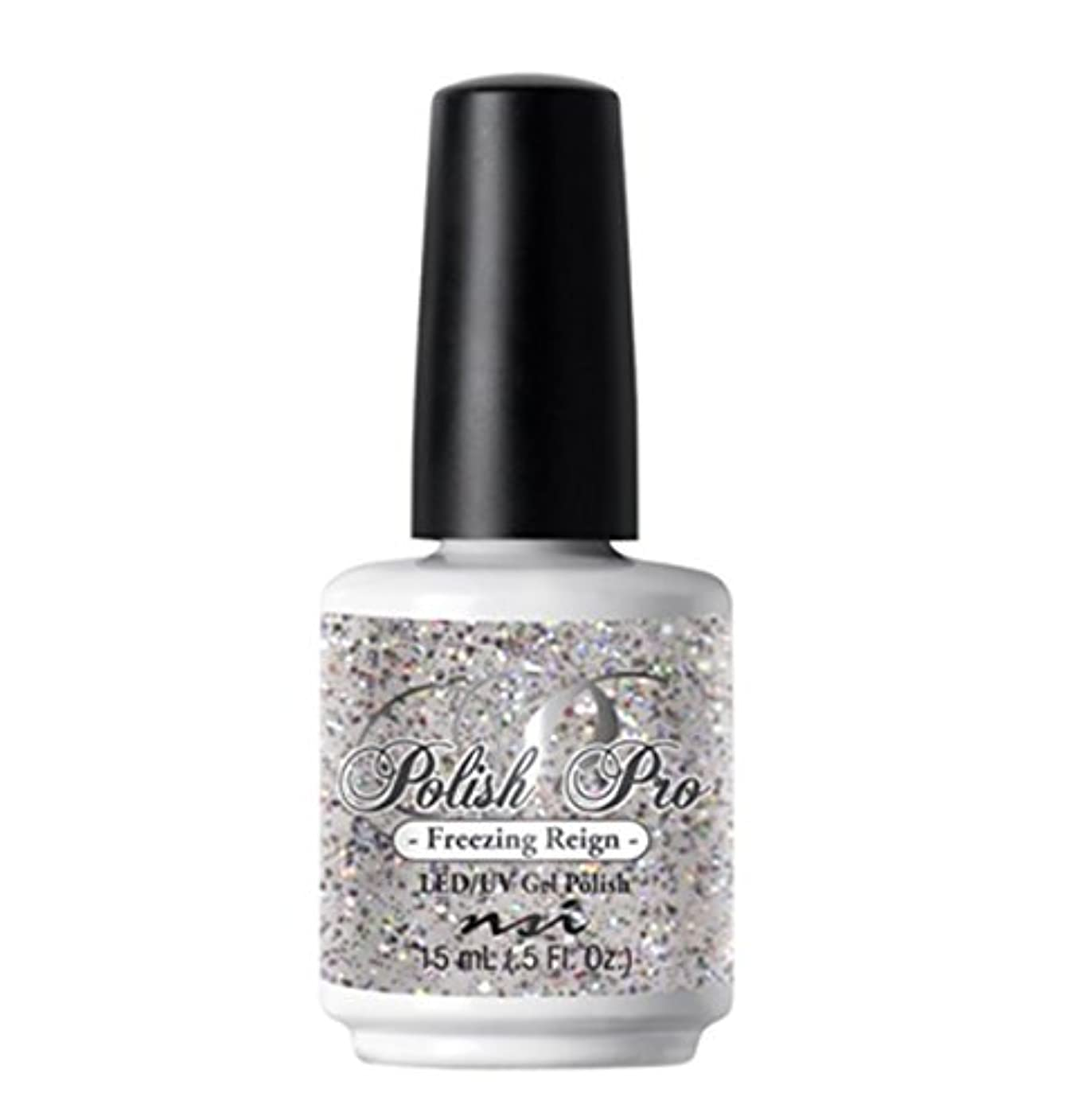 強打もう一度スナップNSI Polish Pro Gel Polish - The Ice Queen Collection - Freezing Reign - 15 ml/0.5 oz
