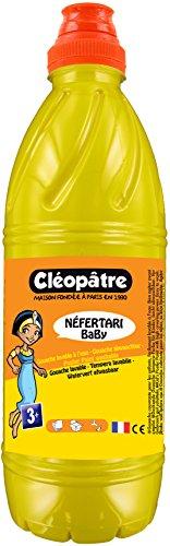 Cléopâtre - PGBB1-7 - Peinture Gouache Néfertari Baby - Jaune doré - Flacon 1 L