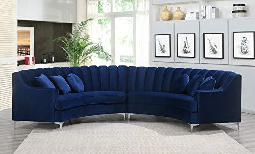 Legend Vansen Sofa Sectional, Blue