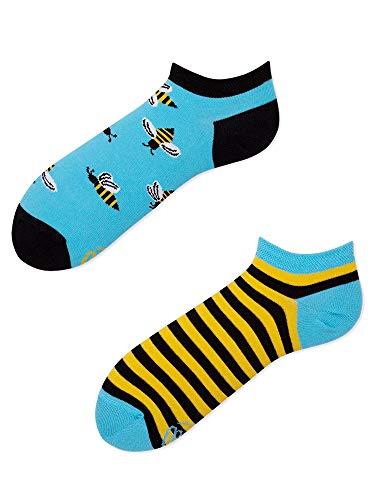 Many Mornings Socken Low unisex Knöchelsocken Bee Bee (39-42)