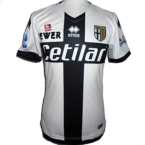 Errea 2019-2020 Parma Home Football Soccer T-Shirt Jersey