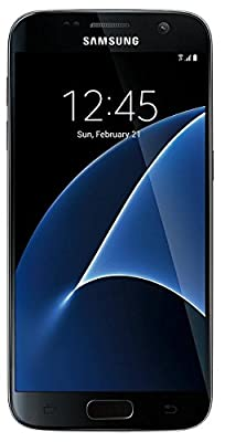 Samsung Galaxy S7 G930T T-Mobile Unlocked GSM 4G LTE Smartphone w/ 12MP Camera - Black (Renewed)