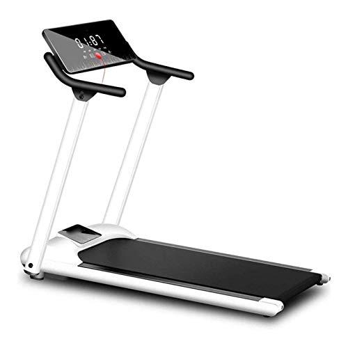 Cinta de correr con tapete, cinta de correr plegable debajo de la cinta de correr eléctrica de escritorio, pantalla LED, utilizada para caminar, trotar, hacer ejercicio en el hogar y uso en la oficina