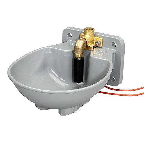 Koll Living Tränkebecken SB 22H / 230 V, Grau, 33 W, Pendelventil, frostsicher mit Integriertem Heizkabel