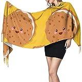 Sciarpe deliziose biscotti piccoli Sciarpa di cashmere da donna Sciarpa di cashmere di moda Sciarpa da donna Grande morbido Pashmina extra caldo