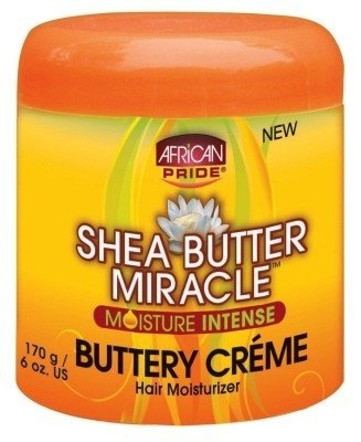 Ap Shea Butter Miracle Buttery Creme 6oz Jar (3 Pack) by AFRICAN PRIDE