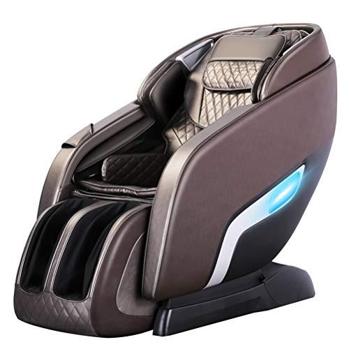 RUIXFMC Innovativ Shiatsu Massage-Stuhl Ganzkörper Massagesessel Fernsehsessel Entspannungssessel mit SL-Therapie Luft-Massage-System Klopfen- Schlagen- Rollen- und Knetenmassage Geschenk, A