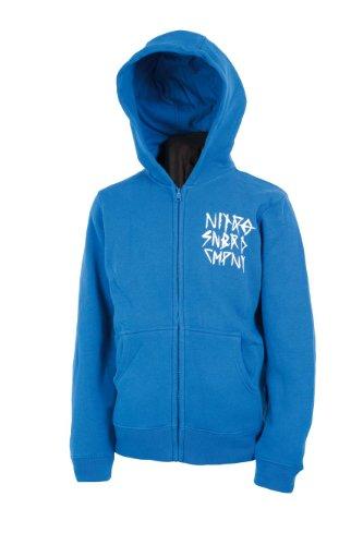 Nitro Snowboards Kinder Kapuzenjacke Smear 13, royal Blue, L, 1131-872062
