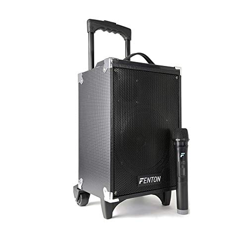 Fenton Portable PA Speaker System with Wireless Microphone, Bluetooth, MP3...