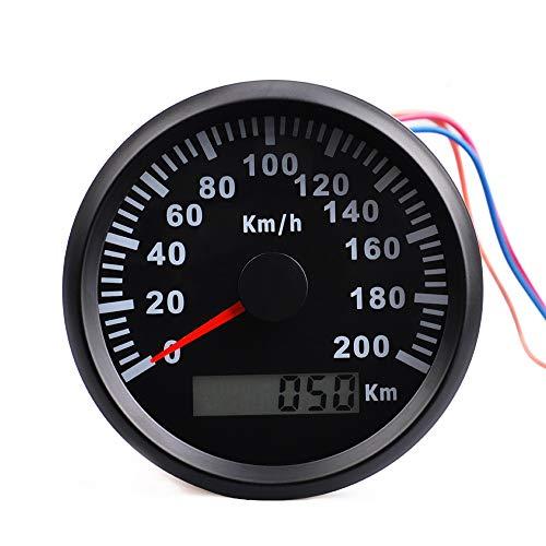 U/D LCZCZL Universal GPS Velocímetro Medidor 200 kmh Gauge Barco del Coche velocímetro Digital con luz de Fondo