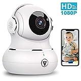 Indoor Security Camera, Littlelf 1080P Baby Pet Wireless WiFi IP Camera for Dog/Elder