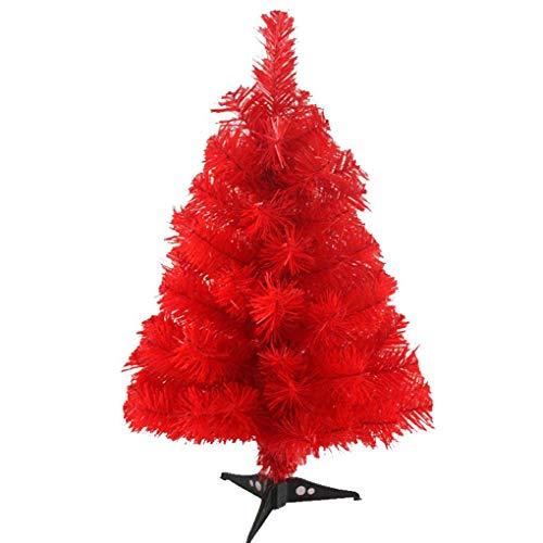 Zinsale 2ft / 60 cm Árbol de Navidad Artificial de Pino con Soporte del árbol Calidad Decoración plástica del...