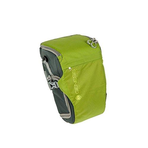 Genesis Rover Colttasche grün für DSLR Kamera, Systemkamera (wasserabweisende Bauchtasche, Zubehörtasche, Schnellzugriff)
