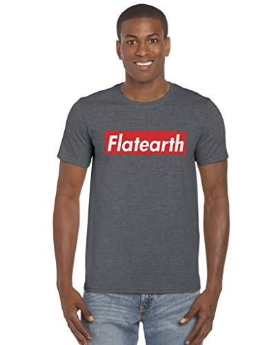 Platte Aarde Box Logo Bogo T-Shirt Tee Top Grappige Stomme Meme