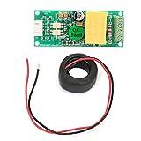 Fafeicy Módulo de monitoreo eléctrico, probador de corriente de voltaje de potencia multifunción con CT AC 80-260V 100A