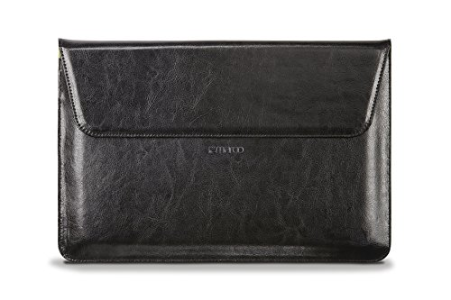 Maroo - Sleeve for Microsoft Surface Book Marbled Leather - Black