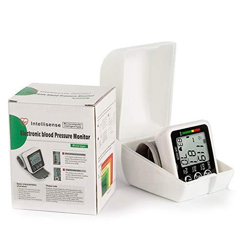 hexingshan Digital LCD Wrist Blood Pressure Monitor Heart Beat Rate Pulse Meter Measure