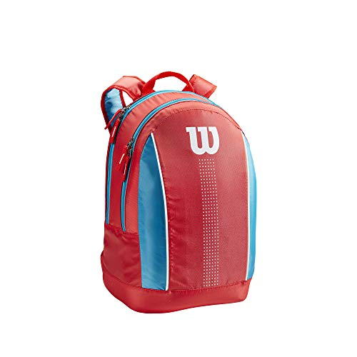 Wilson Junior Backpack Mochila, Juventud Unisex, Coral/Blue/White (Multicolor), Talla Única